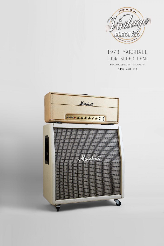 1973 Marshall 100W Super Lead US