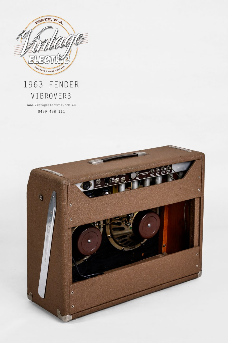 1963 Fender Vibroverb Back