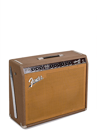 1963 Fender Vibroverb Brownface Amp