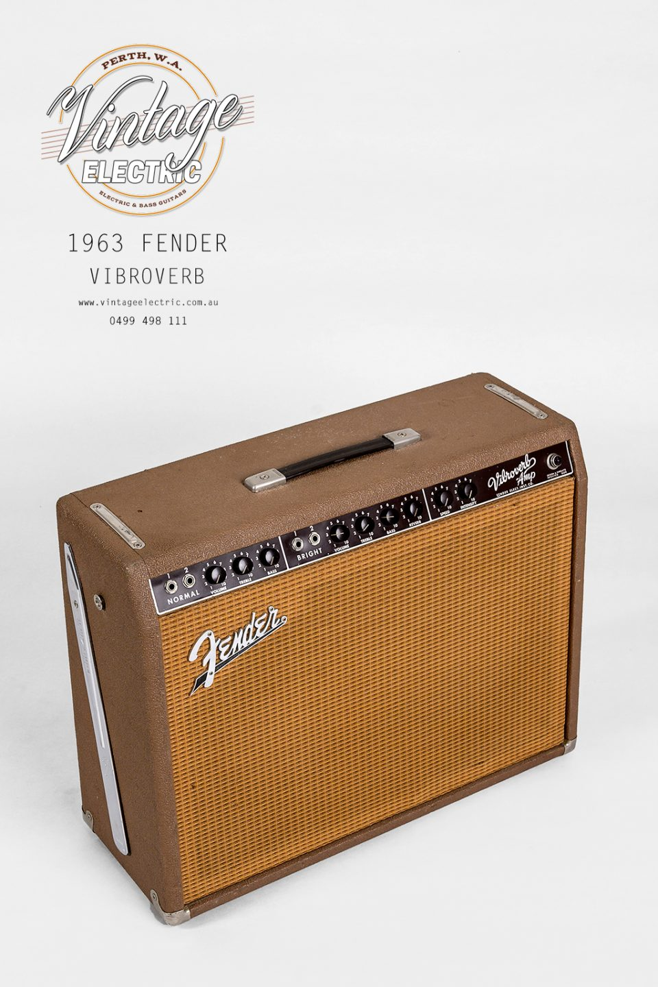 1963 Fender Vibroverb Top