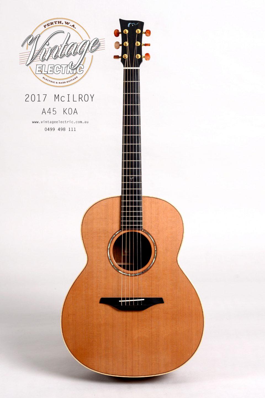 2017 McIlroy A45 Koa Guitar