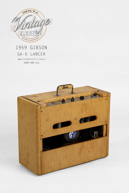 1959 Gibson GA-6 Lancer Back