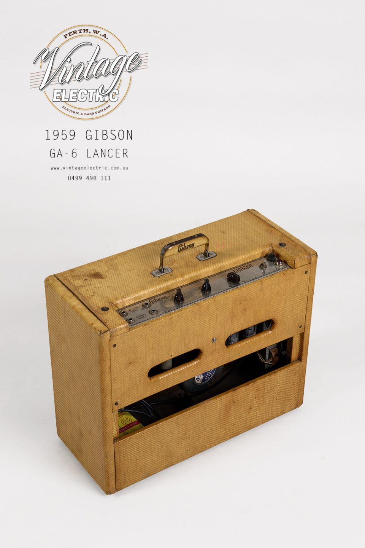 1959 Gibson GA-6 Lancer Top Back