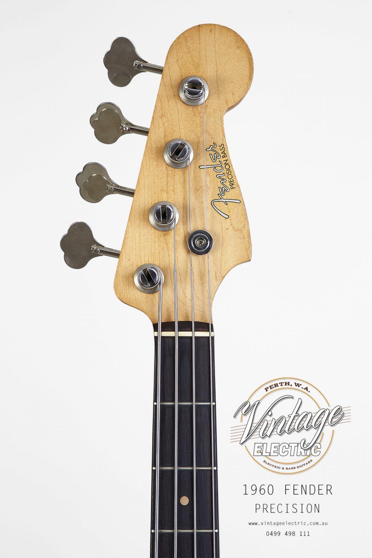 1960 Fender Precision Bass Headstock