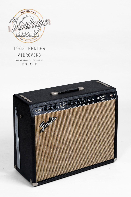 1963 Fender Vibroverb Blackface