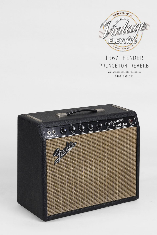 1967 Fender Princeton Reverb Amplifier