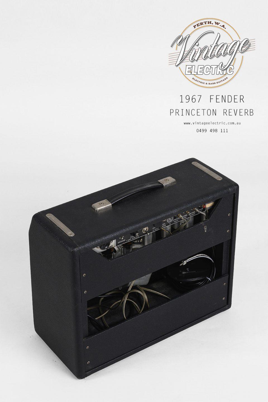 1967 Fender Princeton Reverb Back Top