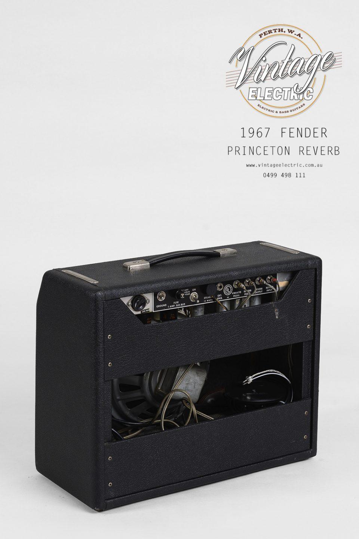 1967 Fender Princeton Reverb Rear