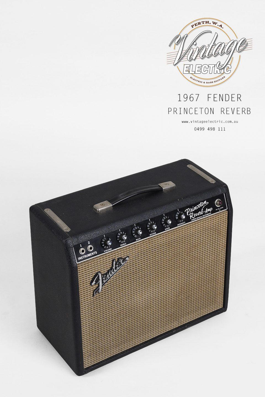 1967 Fender Princeton Reverb Top