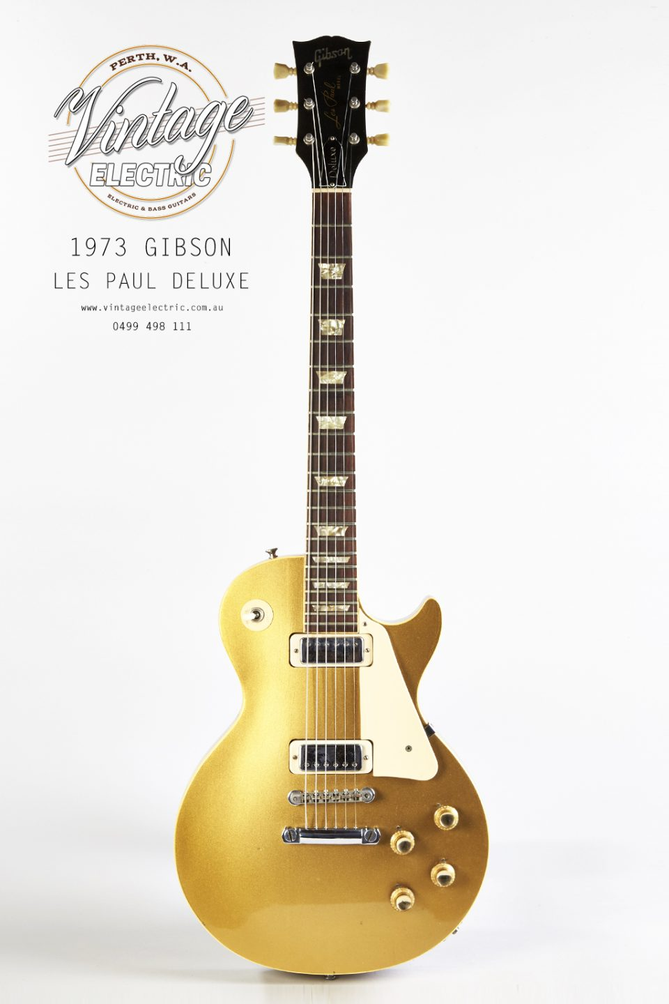 1973 Gibson Les Paul Deluxe Gold Top