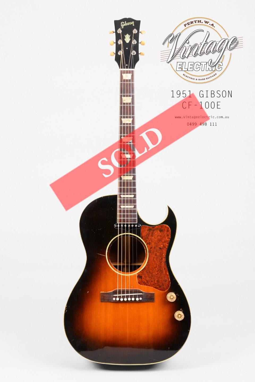1994 Gibson CF100E SOLD