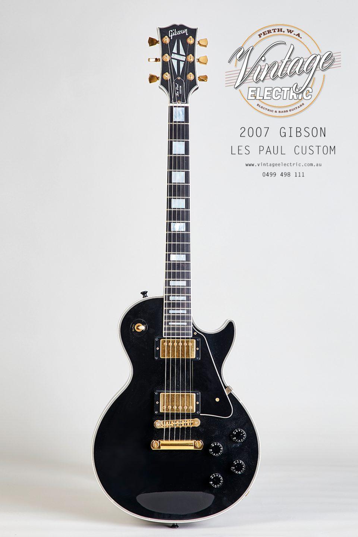2007 Gibson Les Paul Custom Black