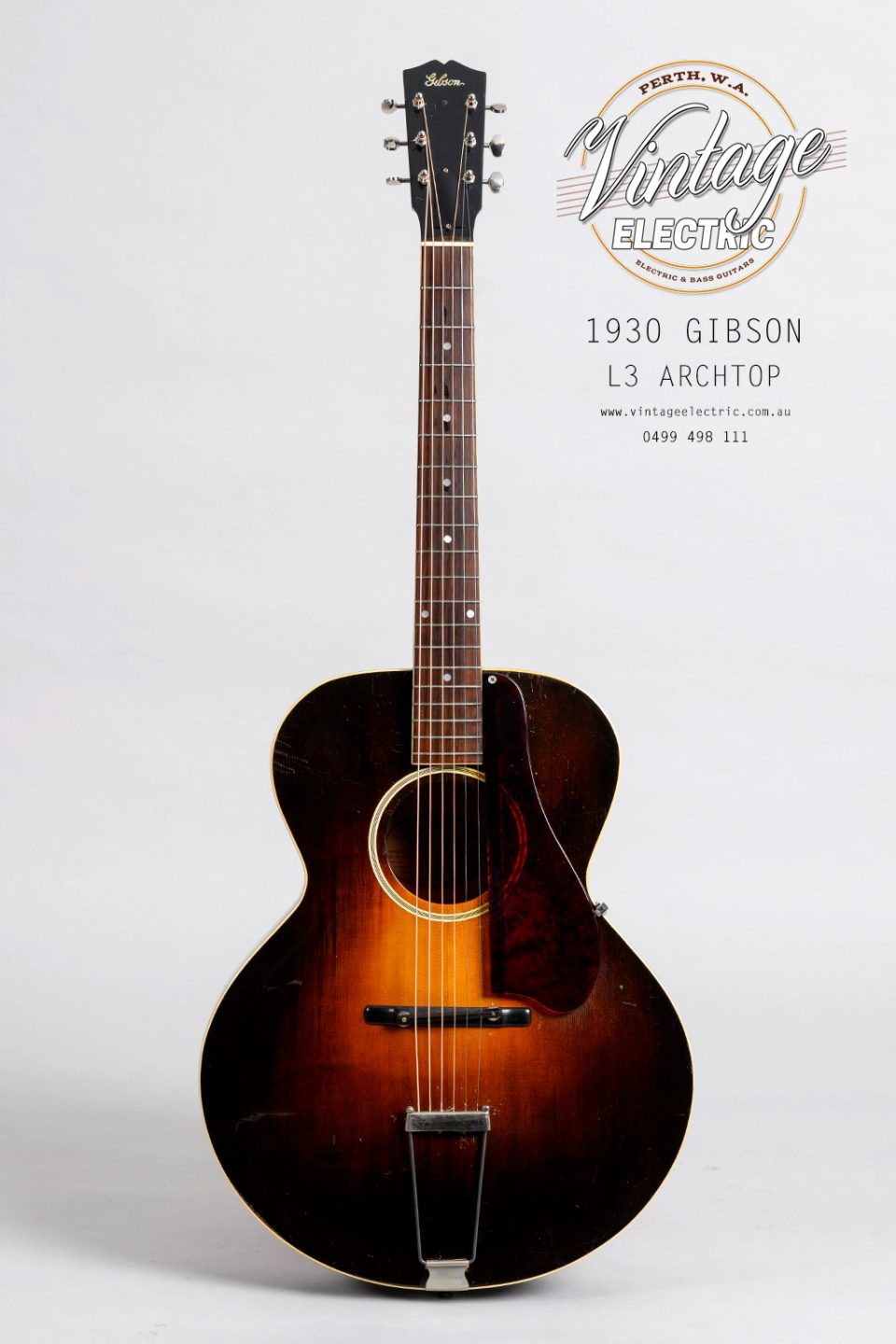 1930 Gibson L4