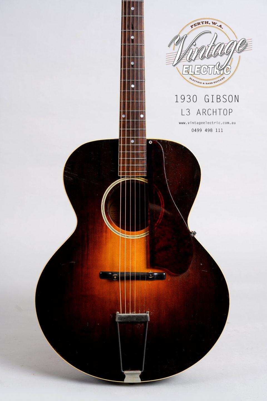 1930 Gibson L4 Body