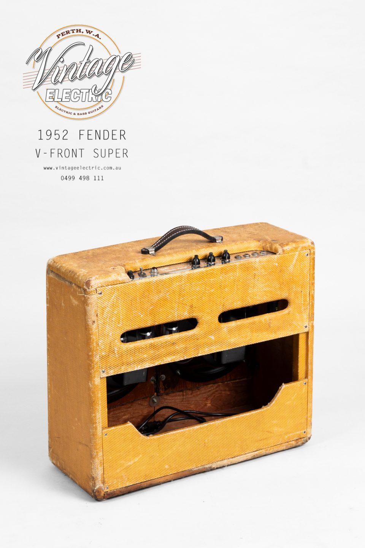 1952 Fender Super Back