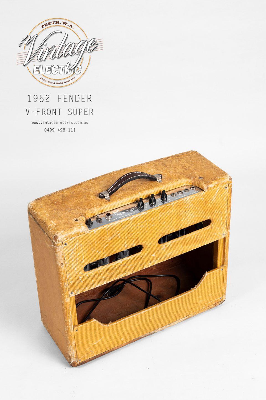 1952 Fender Super Back Top