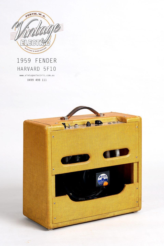 1959 Fender Harvard 5F10 Back