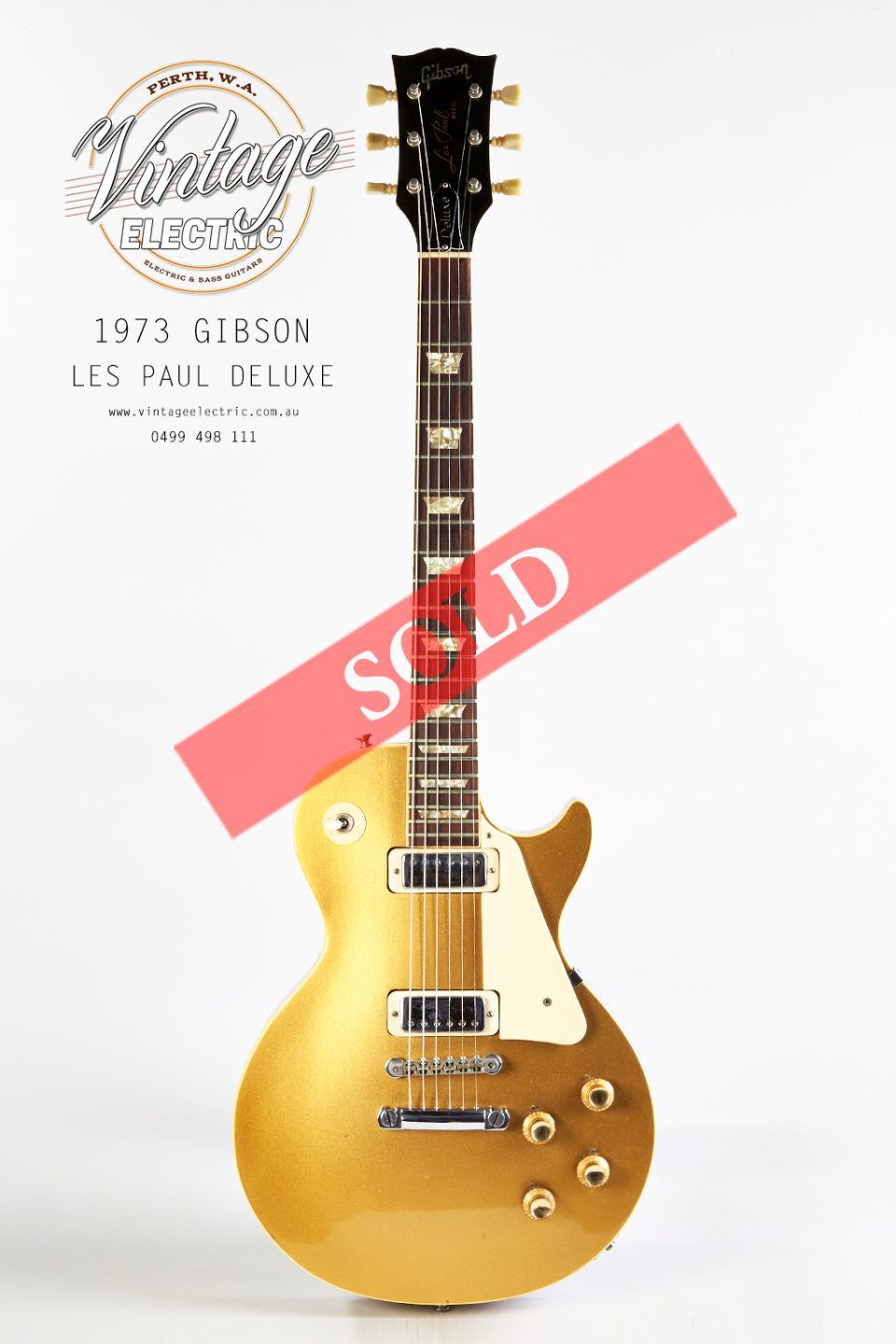 1973 Gibson Les Paul Deluxe Goldtop SOLD