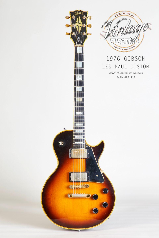 1976 Gibson Les Paul Custom Sunburst