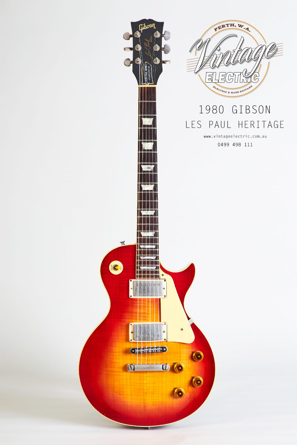 1980 Gibson Les Paul Heritage