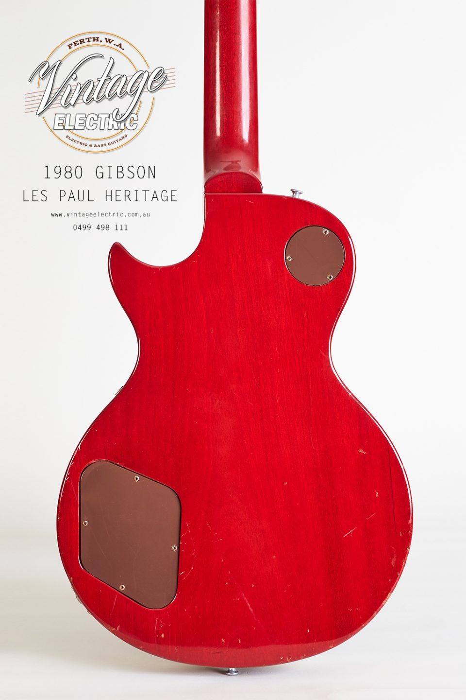 1980 Gibson Les Paul Heritage Back of Body