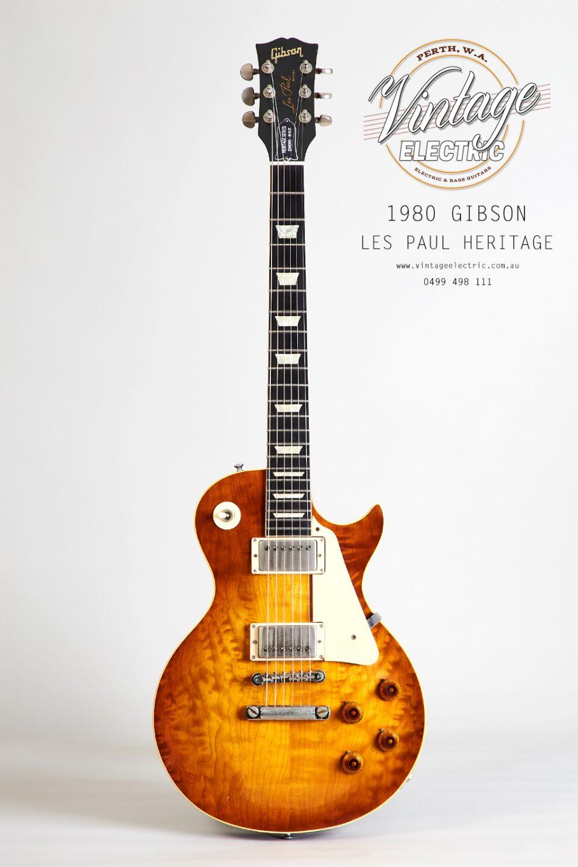 1980 Gibson Les Paul Heritage Elite