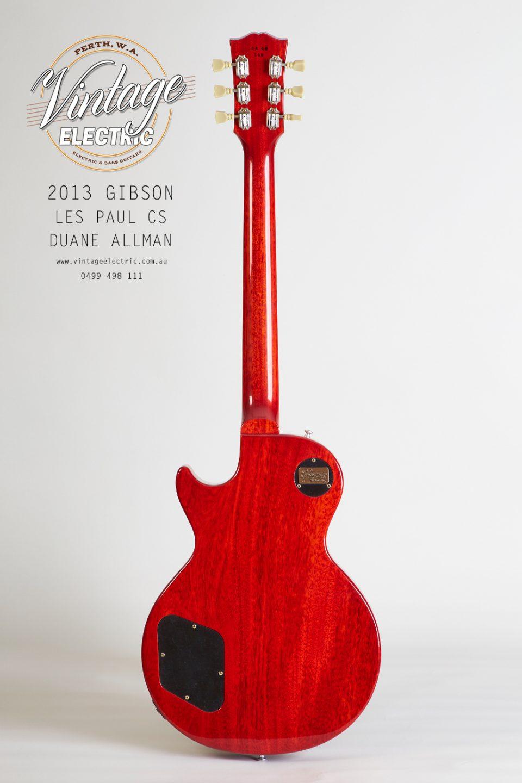 2013 Gibson Les Paul Custom Shop Duane Allman Rear