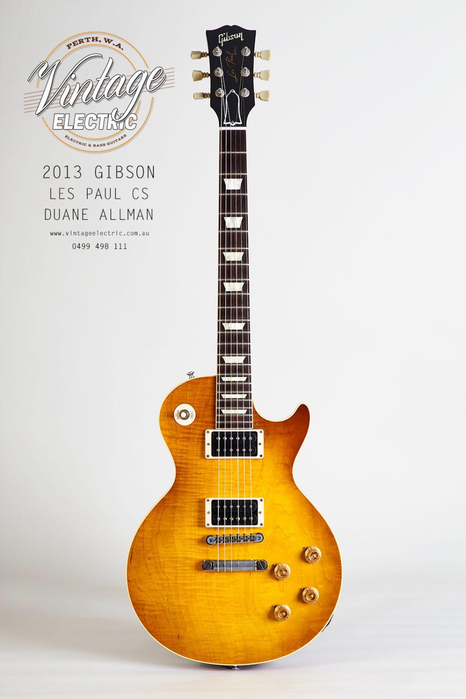 2013 Gibson Les Paul Duane Allman