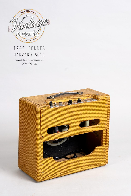 1962 Fender Harvard 6G10 Back
