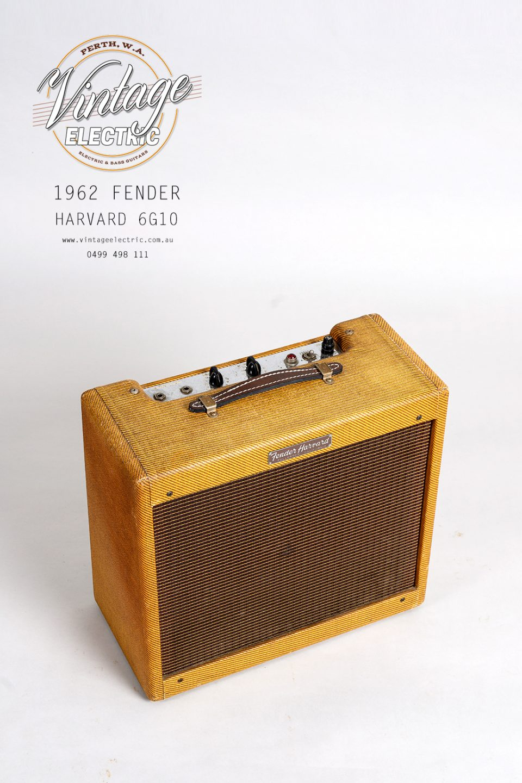 1962 Fender Harvard 6G10 Top