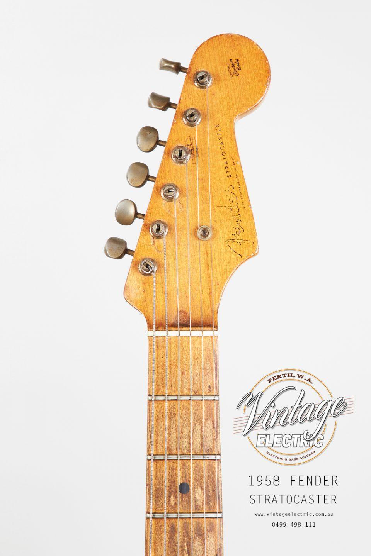 1958 Fender Stratocaster Headstock