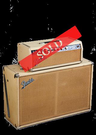 1964 Fender Bassman Blonde Sold