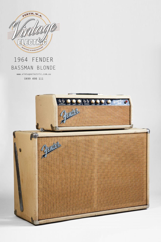 1964 Fender Bassman Front