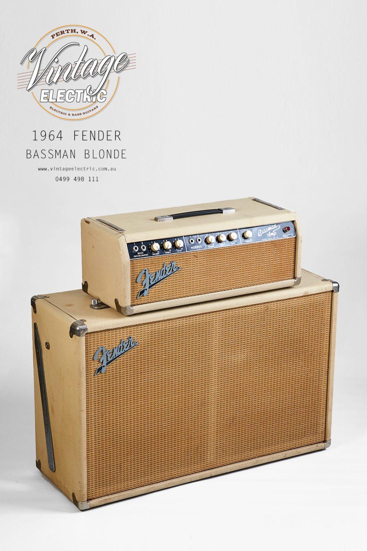 1964 Fender Bassman Top Front