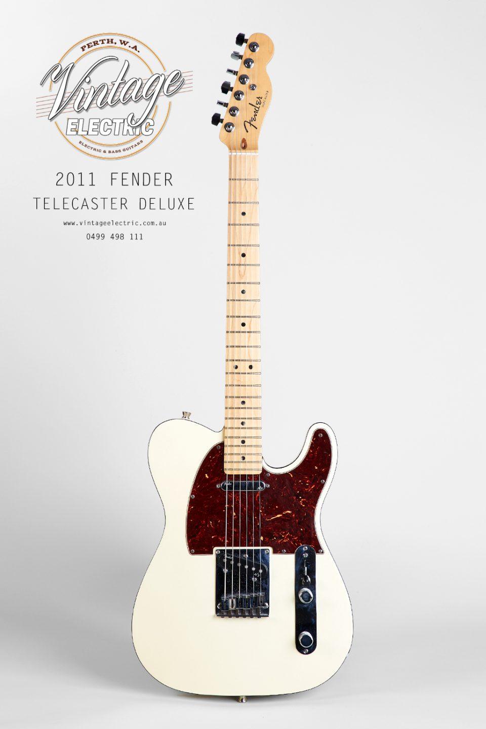 2011 Fender Telecaster Deluxe