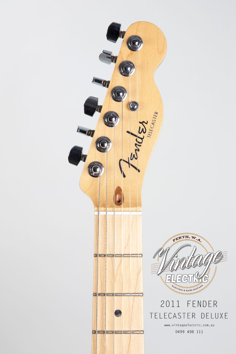 2011 Fender Telecaster Headstock